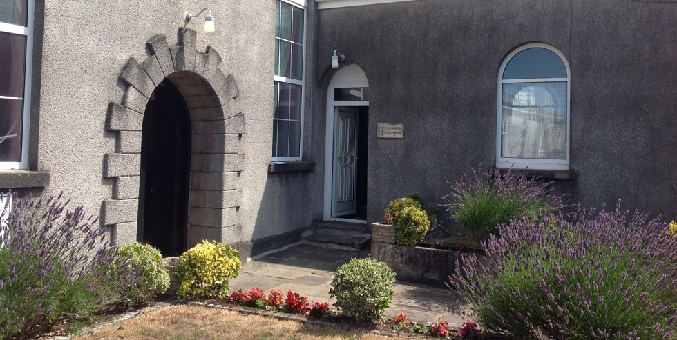 vestry entrance