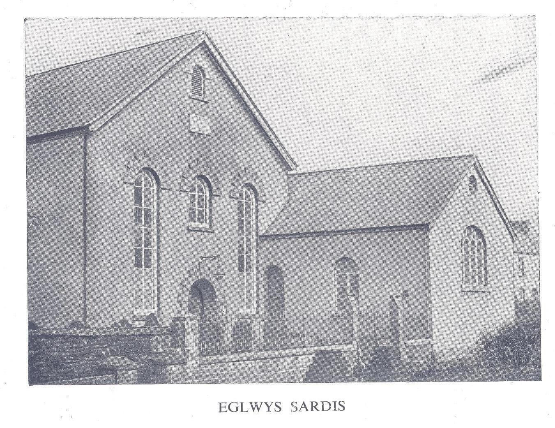 Sardis chapel circa 1960