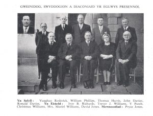 Minister, Officials And Diacones of the Chapel 1960