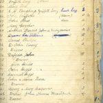 Rhestr/List A 22 to 43