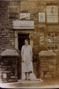 Mrs Bayliss shop, next door up to Farmers