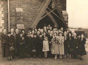 St Barnabas before Caergynydd Rd