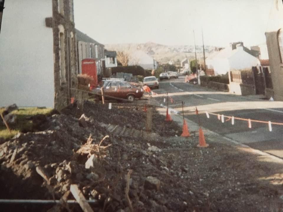 Sardis during road widening