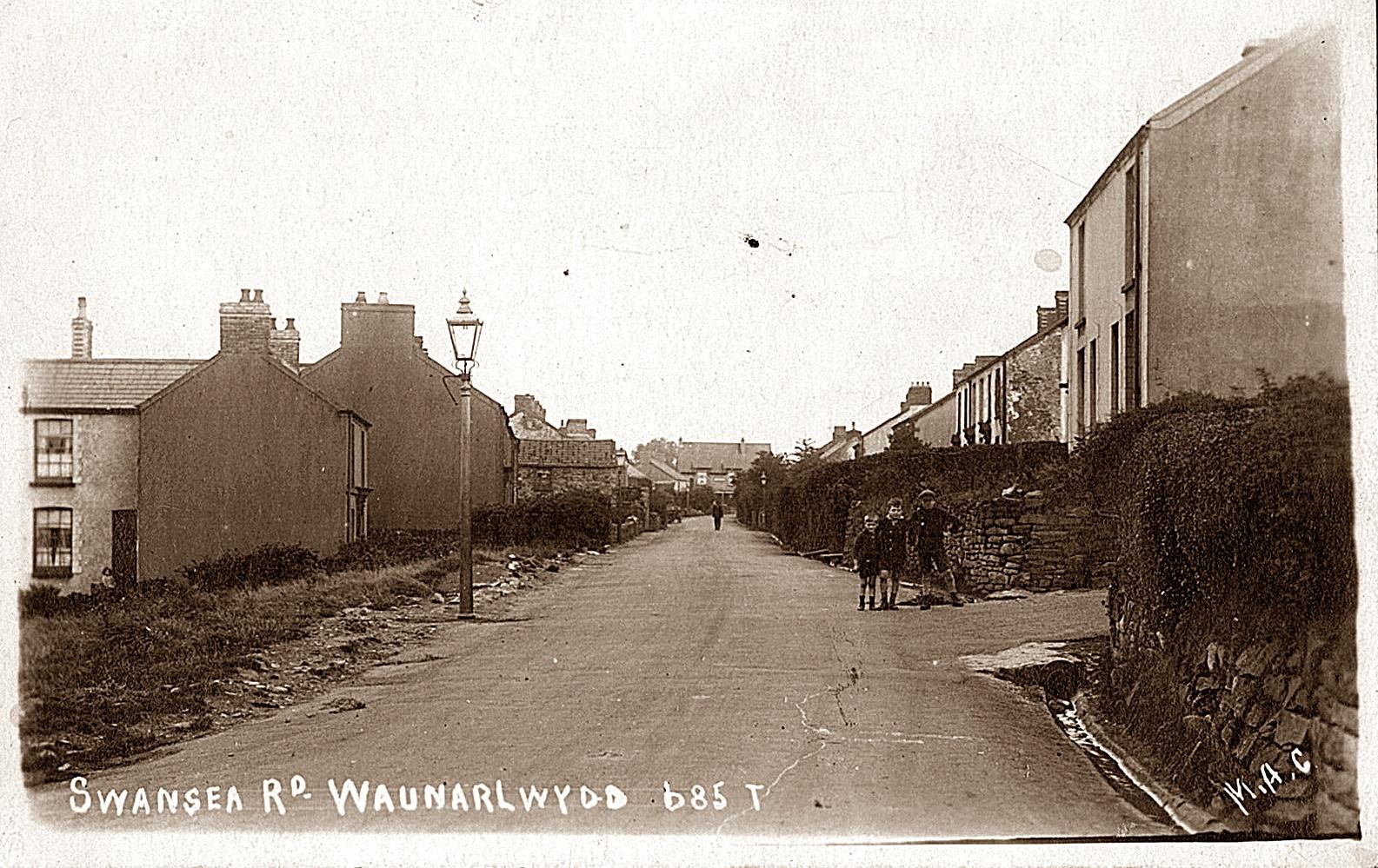 Swansea Rd from Stepney