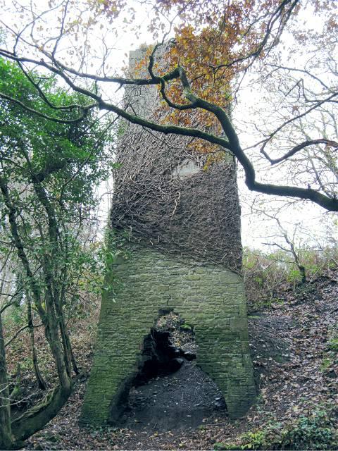 old mine shaft up the Graig